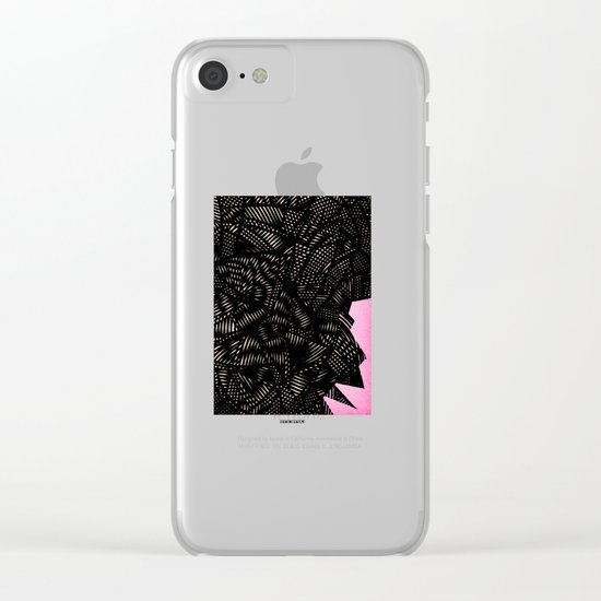 - electroclouds - Clear iPhone Case