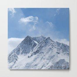 Switzerland Mountains Metal Print