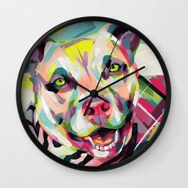 Rockstar Pup Wall Clock