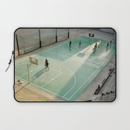 field and basketball players Laptop Sleeve