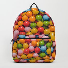 Vintage Mini Gumball Photograph Candy Pattern  Backpack
