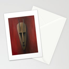 sahra oil painting Stationery Cards