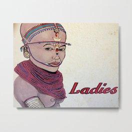 Hey Laaadieeeeees! Metal Print