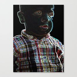 Acid Baby Canvas Print