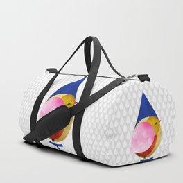 039 birdie kisses the sweet morning raindrop Duffle Bag