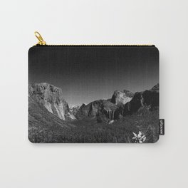 Yosemite Valley View Carry-All Pouch
