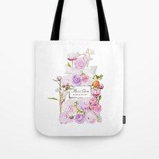 Parfum Blooming Bouquet Tote Bag