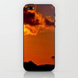 Costa Rica sunset iPhone Skin