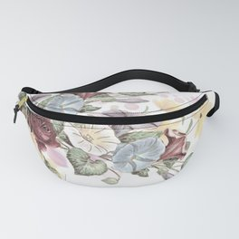 Lush Vintage Floral Fanny Pack