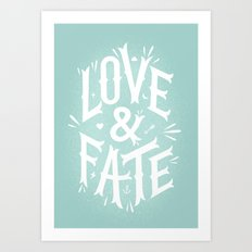 Love & Fate Art Print