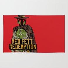 Red Fett Redemption Rug