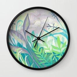 Enchanted Forest Floor III Wall Clock