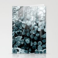 wood Stationery Cards featuring wood  by mark ashkenazi