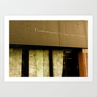 contemporary Art Prints featuring Contemporary by Casey J. Newman
