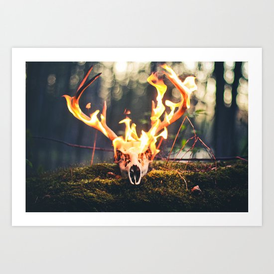 Conflagrate Art Print