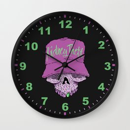 Skully Fitted Wall Clock