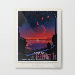 TRAPPIST-1 Tour Metal Print