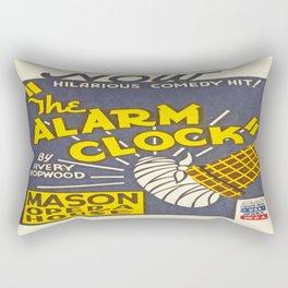 Vintage poster - The Alarm Clock Rectangular Pillow