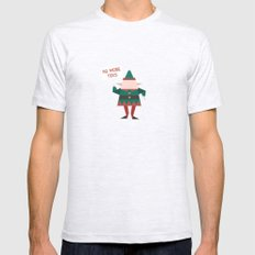 Day 23/25 Advent - Little Helpers on Strike SMALL Mens Fitted Tee Ash Grey
