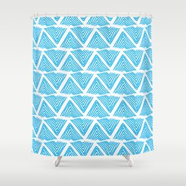 Lagos: abstract pattern Shower Curtain