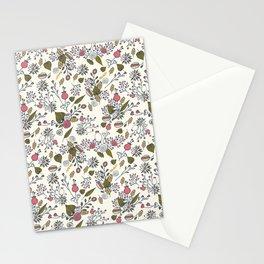 Mori girl three Stationery Cards