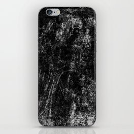 Black angel iPhone Skin