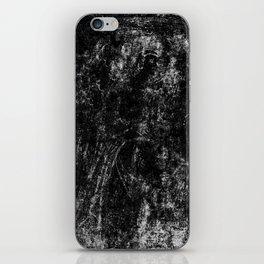 Black angel iPhone Skin