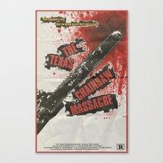 Texas Chainsaw Massacre Canvas Print