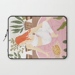 Yoga + Pizza Laptop Sleeve