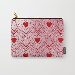 Heartbeat - Romantic - Happy Valentines Day Carry-All Pouch