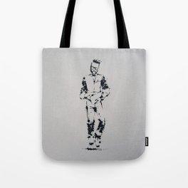 Splaaash Series - Hipster Dude Ink Tote Bag