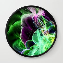 Wave 6 Wall Clock
