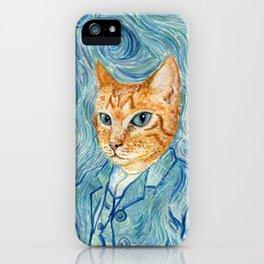 Kitten van Gogh iPhone Case