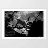 maori Art Prints featuring Maori Proverb by Ever Changing Photography