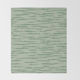 Map Collection: Countryside Throw Blanket