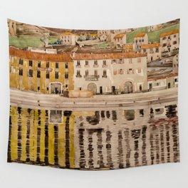 "Charles Rennie Mackintosh ""Quai des Douanes"" Wall Tapestry"