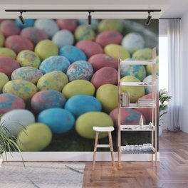 Colorful Candy Eggs Wall Mural