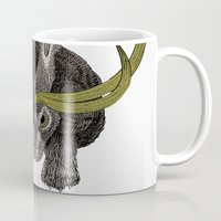 jackalope Mugs featuring Jackalope by Justin McElroy