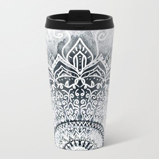 MINA MANDALA Metal Travel Mug