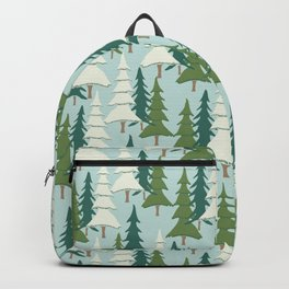 Winter Pines Backpack