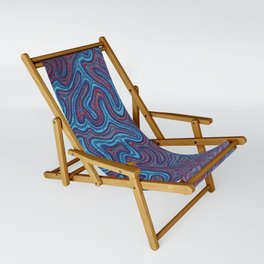 Stitches - Coral Sling Chair