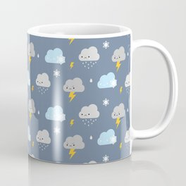 Kawaii Stormy Weather Coffee Mug