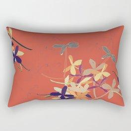 Flying flowers AN Rectangular Pillow
