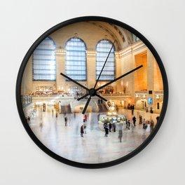 Shadows of Grand Central Wall Clock