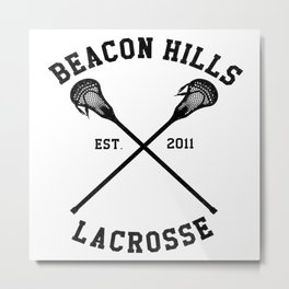 beacon hills lacrosse Metal Print