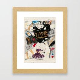 Social Bondage Framed Art Print