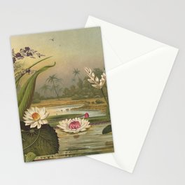Water Plants Stationery Cards