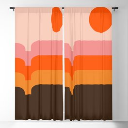 Honey Hills Blackout Curtain