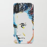 elvis iPhone & iPod Cases featuring Elvis by Phil Fung