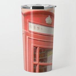 Telephone Box Travel Mug